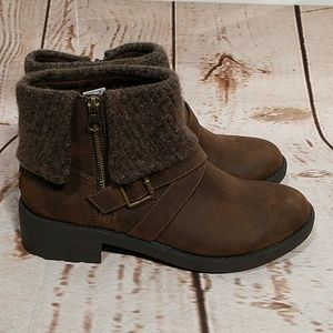 Rocket Dog Round Toe Ankle Boots